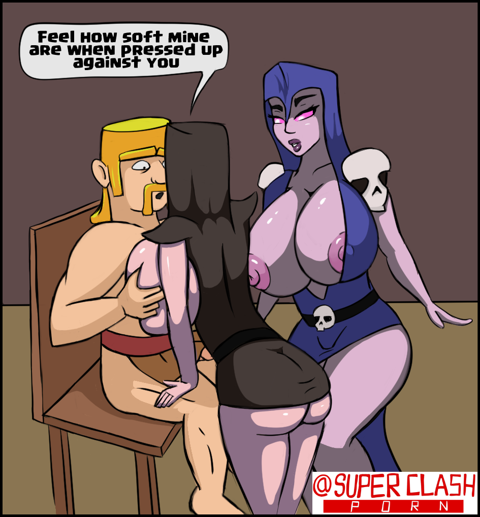 clash of game clans hentai Dragon ball z porn picture