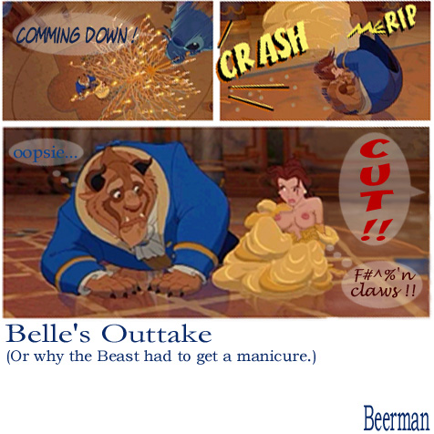 belle beast the pregnant beauty and Resident evil cartoon movies list