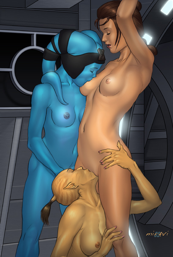 old republic the Mass effect andromeda sara ryder nude