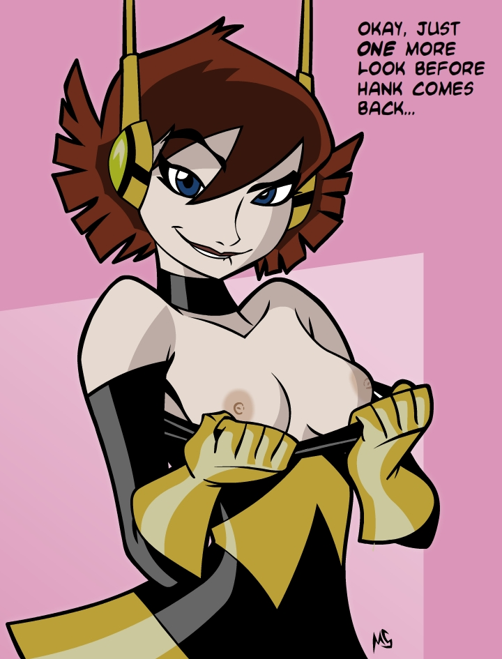 mightiest heroes avengers wasp earth's Sans has sex with frisk
