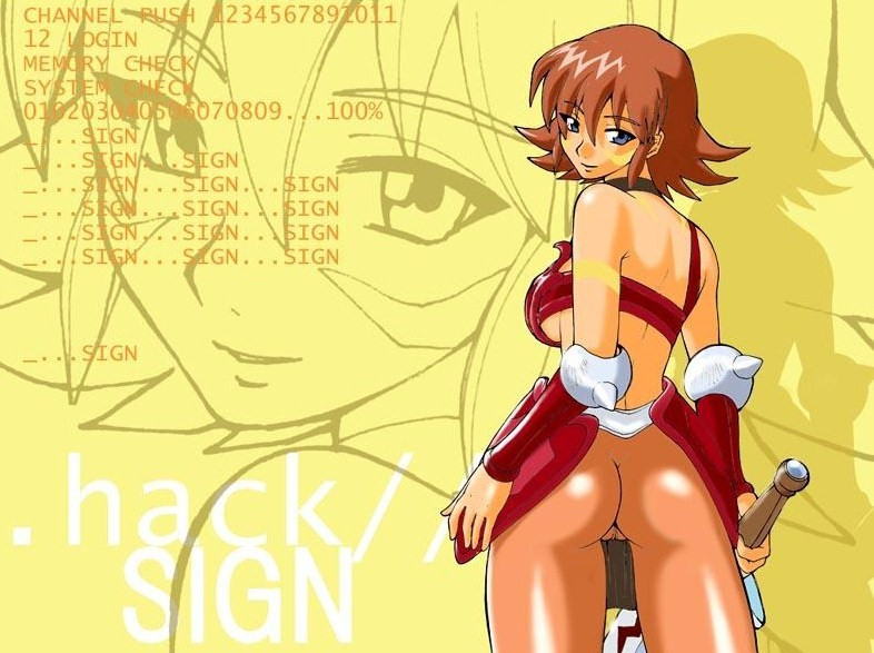 sora .hack//sign Captain n and the game master