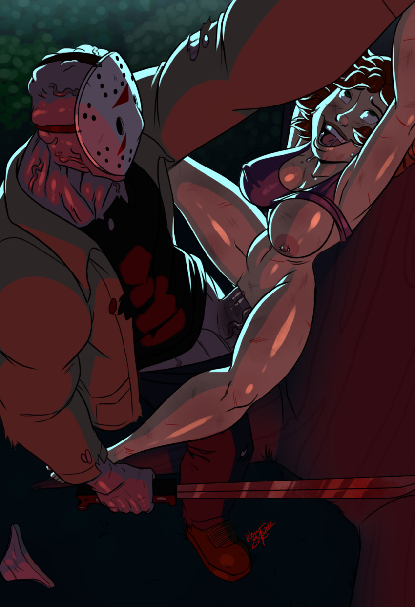 friday 13th jason porn the Femboy hooters go fund me