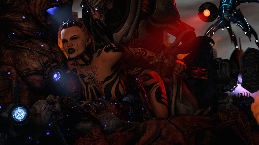 turian mass effect female 3 A man walked into a bar and said ow
