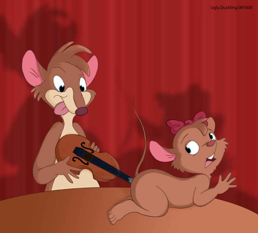 mouse detective great kitty miss Real dad and son naked